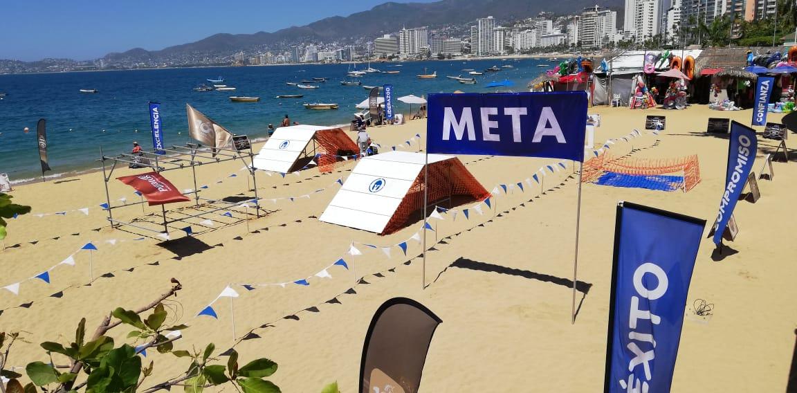 Montaje Spartan Race Acapulco